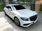 2017 BENZ E350e Exclusive ไมล์เพียง 20,000 รถศูนย์ Benz Thailand Warranty ยังเหลืออยู่