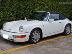 Porsche 911 Carrera 4 Cabriolet (964) !!! ปี 1990 เดิมๆ สภาพสมบูรณ์มากวิ่งปกติ
