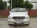จองให้ทัน Benz Vito 115 cdi long สีบอร์นเงิน ปี 2011