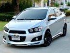 Chevrolet Sonic 1.6(4สูบ) LT Sedan เกียร์ AT สีเทา ปี2014