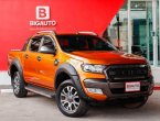2017 Ford Ranger 2.2 WildTrak Hi-Rider DOUBLE CAB Pickup AT(ปี 15-18) P1451