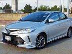 2017 Toyota VIOS 1.5 E รถเก๋ง 4 ประตู รถมือเดียวออกห้าง ใช้งานน้อย กระจกพับ-ปรับไฟฟ้า ชุดแต่งรอบคัน แอร์เย็นจนหนาว พร้อมใช้จริงๆ