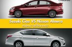 Suzuki Ciaz กับ Nissan Almera คันไหน? มีดีให้มากกว่า