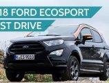 รีวิว Ford EcoSport ST-Line 2018