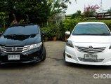 เปรียบเทียบ Toyota Vios, Honda City มือสอง คันไหนเป็นยังไงต้องดู!