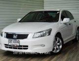 HONDA ACCORD 2.4 EL NAVI AT ปี2008 สีขาว รถสวย พร้อมใช้งาน