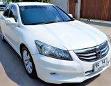 2012 Honda ACCORD 2.0 EL sedan รถบ้านแท้ ไม่เคยทำสีแม้แต่ชิ้นเดียว สวยจัด คู่มือบุ๊ค ครบๆ