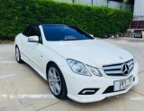 2011 Mercedes-Benz E250 AMG convertible