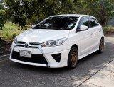 Toyota Yaris 1.2 G ปี17 รถบ้านมือเดียวสภาพสวยขับดีไม่แก็สพร้อมหาใช้ชุดแต่งรอบคัน