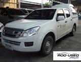 ISUZU D-MAX CAB4 2.5 S สีขาว MT 2015
