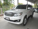 2013 Toyota Fortuner 3.0 V D4D VN Turbo Auto สีขาว