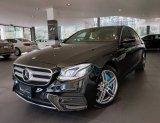 Mercedes-Benz E350e AMG Plug-in Hybrid สีดำเบาะน้ำตาล  ปี2017