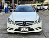2012 BENZ E250 COUPE AMG 205HP 7 SPEED