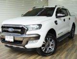 Ford Ranger 2.2 DOUBLE CAB Hi-Rider WildTrak Pickup AT ปี2016 สีขาว รถสวย ไมล์น้อย ฟรีดาวน์