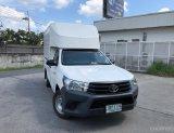 2016 Toyota Hilux Revo 2.4 J หลังคาอะลูมิเนียมสูง1.80ม.+เสริมเเหนบเเล้วลงเล่ม