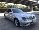 2007 Mercedes-Benz E200 CGI Elegance รถเก๋ง 4 ประตู  สีเทา พร้อมใช้งาน
