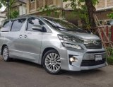 ขายรถตู้ Toyota vellfire 2.4 ZG Edition full option ปี 2012