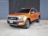 FORD RANGER DOUBLE CAB 2.2 WILDTRAK HI-RIDER A/T ปี 2017  9กด6027