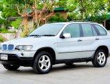 BMW X5 2002 E53 (โฉม99-06) SUV 3.0 A/T สีเงิน