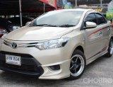 2014 Toyota VIOS E รถเก๋ง 4 ประตู