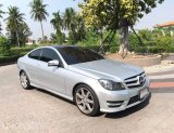 Mercedes Benz C180 W204 AMG Coupe สีบรอนซ์ ปี 2013 จด 2015