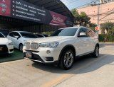 🚩BMW X3 TWINTURBO HIGHLINE 2.0 MINORCHANGE ปี 2015 สีขาว