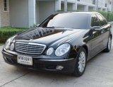 2005 Mercedes-Benz E200 Kompressor Elegance รถเก๋ง 4 ประตู