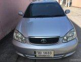 2002 Toyota Corolla Altis 1.8 E รถเก๋ง 4 ประตู