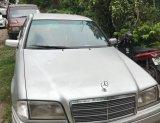 ขายรถเบนซ์บ้าน ติดแก๊ส NGV สลับเบนซิน ใช้มือเดียว ต่อรองได้