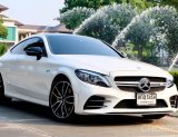 Benz C43 AMG Facelift 4 MATIC Coupe ปี 2019  เครื่องยนต์ 3.0 V6 BITURBO ( 390 HP )