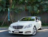 2011 Mercedes-Benz E250 CGI Avantgarde รถเก๋ง 4 ประตู