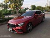 2019 Mercedes-Benz E220 CDI AMG รถเก๋ง 4 ประตู
