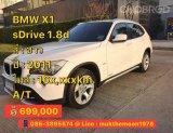 2011 BMW X1 sDrive18d SUV
