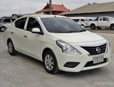 ฟรีดาวน์ ปี16 Nissan Almera Minor Chnge สีขาวมุก รถปีใหม่ๆ ราคาสบายๆ รถสวยสด