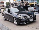 Benz E300 Blutech Hybrid 2.1 AMG W212 ปี14 รถศูนย์ขับดีออฟชั่นเต็มตัวรถไม่มีอุบัติเหตุพร้อมใช้