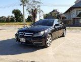 รถปี 2013 Mercedes Benz C180 1.6 CGi COUPE AMG Dynamic โฉม W204 สีดำ