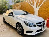 Benz E200 Coupe TOP AMGปี2014