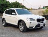 """BMW X3 2.0i Xdrive ปี13"""" วิ่ง130,000โล ประวัติเซอวิสครบ มือเดียวป้ายแดง SUV"""