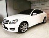 Mercedes Benz C180 AMG Coupe 1.6 เทอร์โบ 156 แรงม้า ปี 13