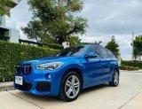 2017 BMW X1 ดีเซล M Sport สี Estoril Blue