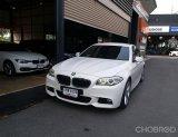 ปี2013 Bmw 520d 2.0 F10 m-sport sedan at สีขาว