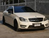Benz c180 cgi coupe amg package w204  ปี 2012