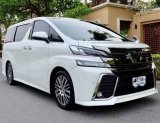 Toyota Vellfire 2.5 ZG Edition Fulloption จดทะเบียนปี 2016