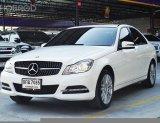 BENZ C200 1.8CGi W204 Elegance  AT ปี2013 สีขาว รถสวย พร้อมใช้งาน