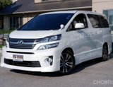 "2014 Toyota Vellfire 2.4 ZG TOP Minor Change รถสวยไม่มีชน""รถมือสอง"