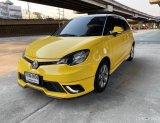 ขายรถมือสอง 2018 MG 3 1.5 D สีเหลือง มือเดียว รถสวย