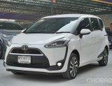รถมือสอง Toyota Sienta 1.5 V Wagon AT ปี2017 สีขาว รถสวย ตัว TOP ฟรีดาวน์