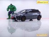 1L-19 Toyota Yaris เกียร์ AT สีเทา ปี2014