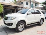 ขายรถมือสอง Toyota Fortuner 3.0 V 4WD เกียร์ ออโต้ ปี 2012
