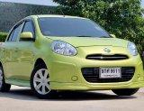 2010 Nissan MARCH 1.2 E รถเก๋ง 4 ประตู  ขายดีรถมือสอง